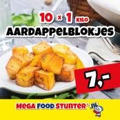 aardappelblokjes